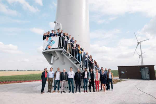 H2air électricité renouvelable photo de groupe - H2air GT