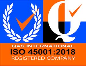 Logo ISO 45001 - H2air GT