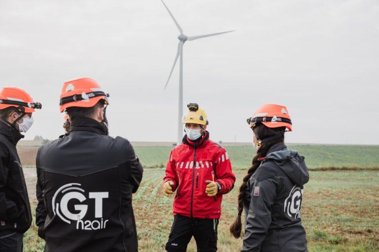 Formation : recyclage travail en hauteur et sauvetage d'une éolienne